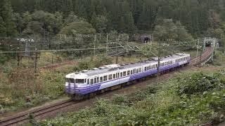 115系N34編成 臨時快速「谷川岳紅葉号」 土合~土樽