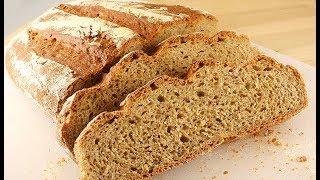 Гречневый Хлеб * из Трех Видов Муки * Очень Вкусный!
