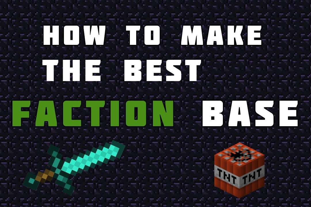 Faction base ideas minecraft drawing