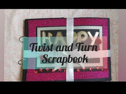 Twist And Turns Scrapbook DIY