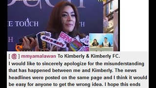 [Eng Sub] Kimberley - 2014.03.26 - Kim confuse about Amy Maxim dislike gossip