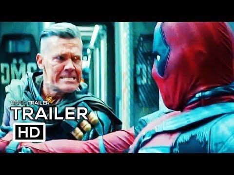 DEADPOOL 2 Wade Vs Cable Trailer NEW (2018) Ryan Reynolds Marvel Superhero Movie HD