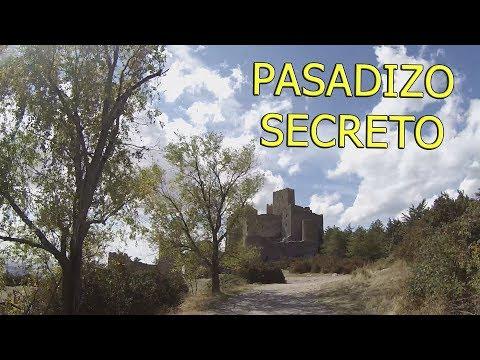 PASADIZO SECRETO en CASTILLO DE LOARRE | VideoBarbas