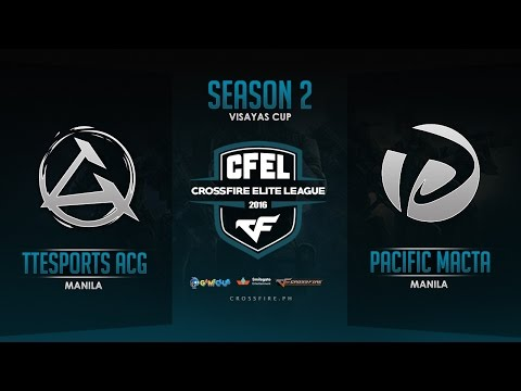 TTeSports ACGaming vs Pacific.Macta – Crossfire Elite League Mindanao Cup – Round 4 Match 2