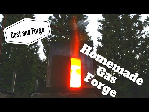Homemade Gas Forge