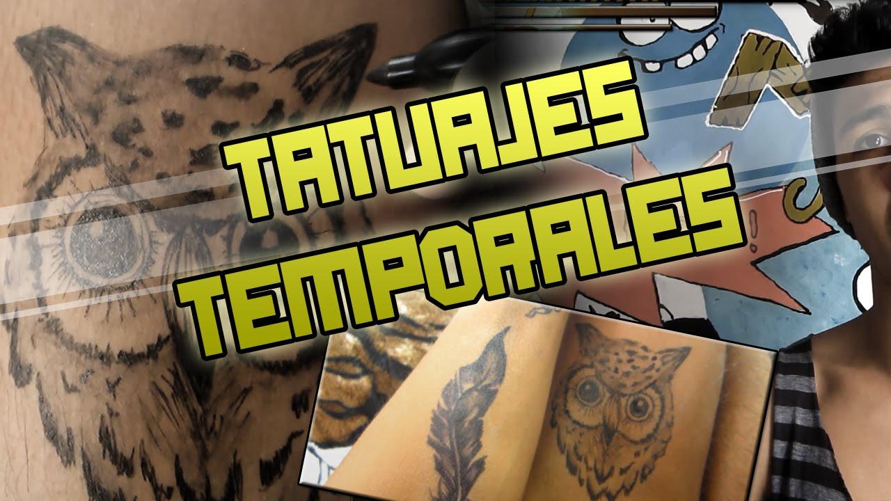 Tatuajes Temporales Badabun como hacer un tatuaje temporal   mi tecnica   ivan ante - youtube