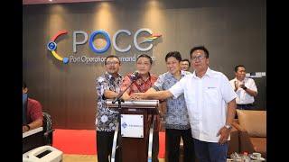 Pelindo III meluncurkan Sistem Pelayanan Kepelabuhanan canggih!! POCC (Port Operator Command Center)