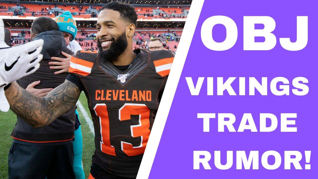 Odell Beckham Jr. Trade Rumors: Vikings, Browns Haven't Talked ...