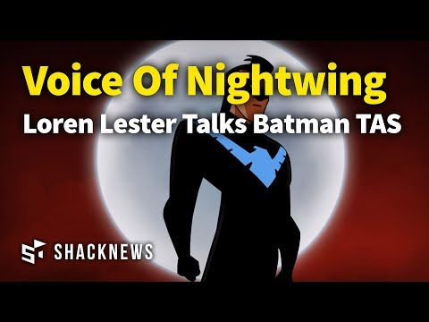 Loren Lester Talks Nightwing and The Animated Series