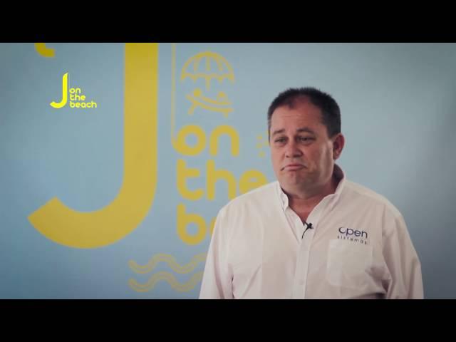 Juantomás García from OpenSistemas Interview - JOTB16