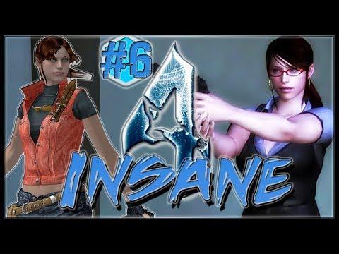 Resident Evil 4 INSANE Condition #6 Claire Redfield RE2 FBI Secretary.