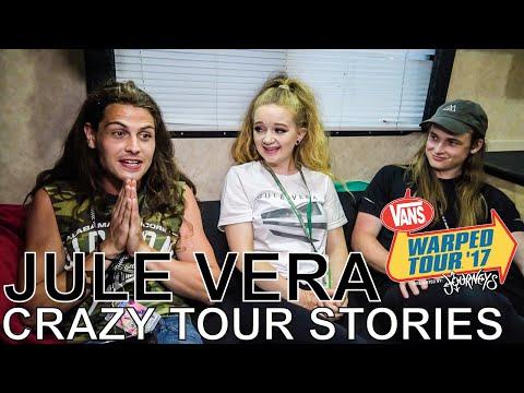 Jule Vera - CRAZY TOUR STORIES Ep. 579 [Warped Edition 2017]