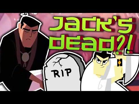 Did Samurai Jack DIE At The End of Season 5? Samurai Jack Theory   UNDERLAB