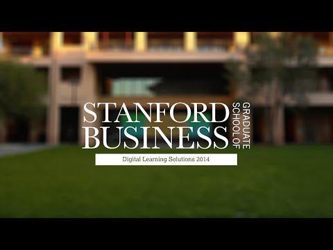 Stanford Graduate School of Business - Digital Learning Solutions 2014 Reel  (online education)