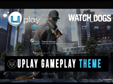 Watch Dogs - Gameplay Theme Background Wallpaper  (Uplay Reward)
