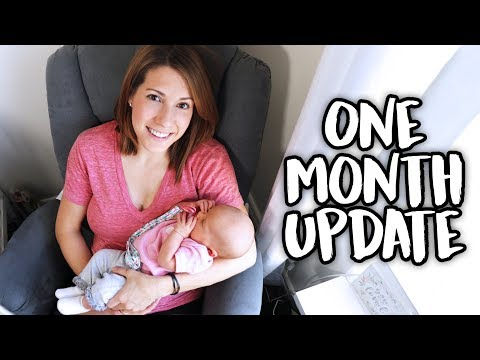 Newborn Baby's One Month Update!