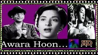 Awaara 1951 - Awaara Hoon   - Türkçe Altyazılı HD 1080p