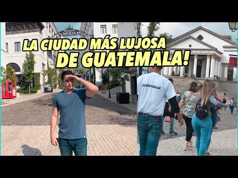 Así es la ciudad más LUJOSA de GUATEMALA 🇬🇹 | Paseo Cayalá | Tío Frank