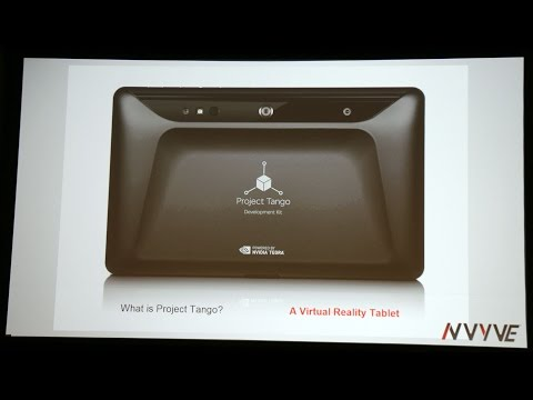 Google Project Tango 3D VR Gaming And Augmented Reality Demo At GTC 2015