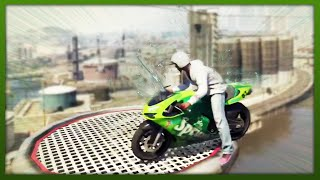 GTA 5 Stunts - Insane Precision Landings! - (GTA 5 Top 5 Stunts)