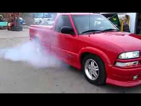 2000 chevy s10 extreme burnout  YouTube