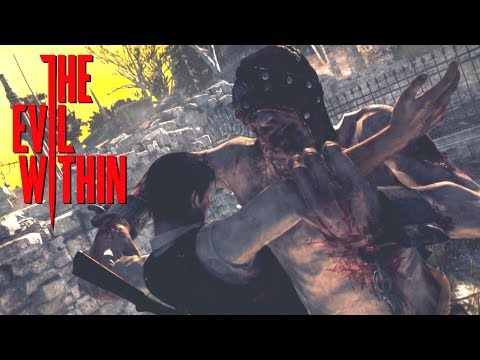 The Evil Within - The Twins (Zehn & Neun) Boss Fight + Death Scenes