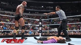 Brad Maddox vs. Randy Orton: Raw, Nov. 18, 2013