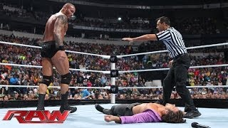 Brad Maddox vs. Randy Orton: Raw, Nov. 18, 2013