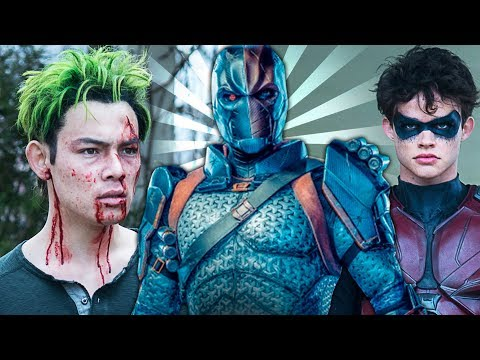 Titans Batman 2x01 Promos Review - Temporada 2 Teaser Análisis TITANS vs DEATHSTROKE