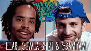 Earl Sweatshirt & Samiyam - What's In My Bag?
