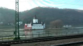 Die schönsten Bahnstrecken Deutschlands - rechte Rheinstrecke  (RÜD - St. Goarshausen)