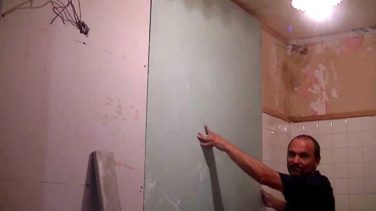 comment poser du placo colle au mur