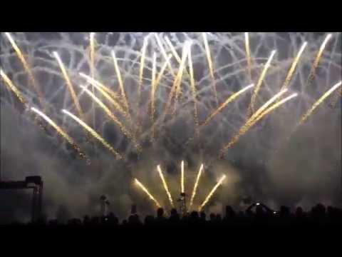 Flammende Sterne Ostfildern 2014 Feuerwerk Costa Rica am 16.08.