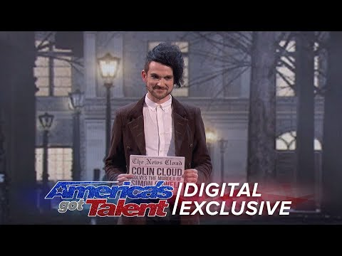 The Magnificent Magic of Colin Cloud - Americas Got Talent 2017