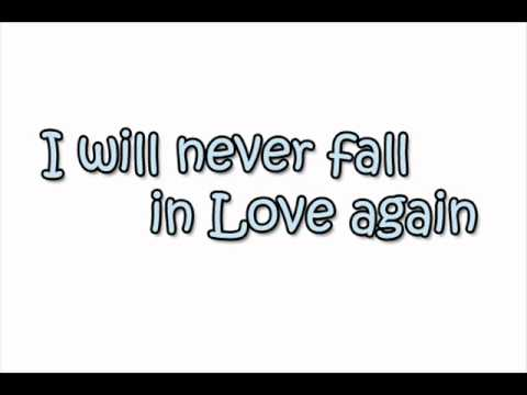 Friday I Will Never Fall In Love Again Cover Youtube