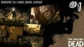 The Walking Dead - Episode 3 - Gameplay Walkthrough - Part 1 - LONG ROAD AHEAD (Xbox 360/PS3/PC)