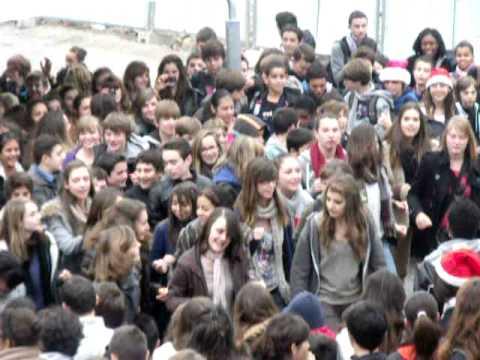flashmob college jean rostand 2011