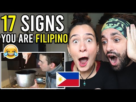 Crazy SIGNS that you are A FILIPINO - INSANE Philippines Reaction