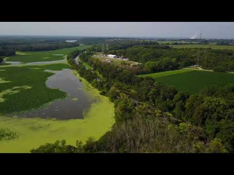 Channahon Illinois | Moose Island | Drone Flight