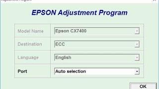 reset epson adjustment program bx305f