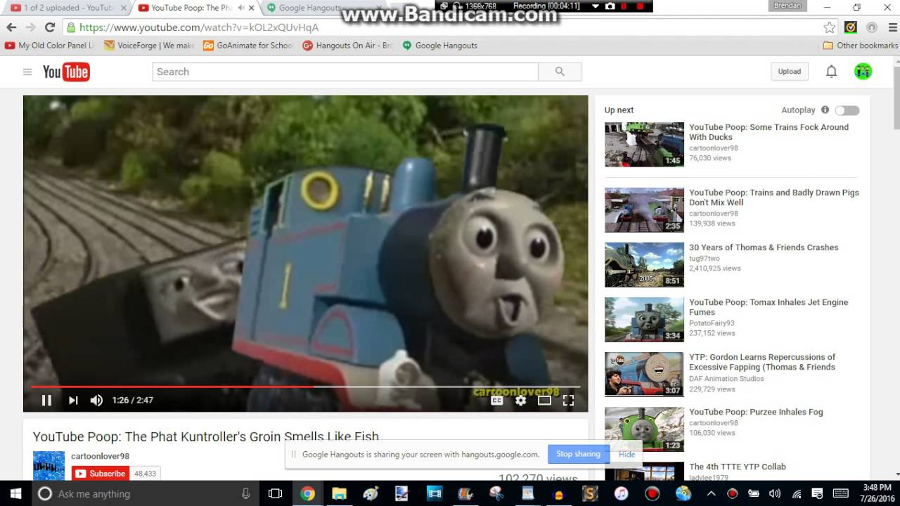 Bb reacts 106 youtube poop the phat kuntroller 39 s groin for Diarrhea smells like fish