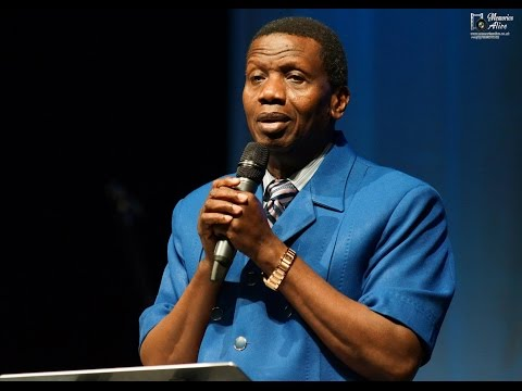 Integrity   by: Pastor  Adejare Adeboye the General Overseer of Redeemed Christian Church of God