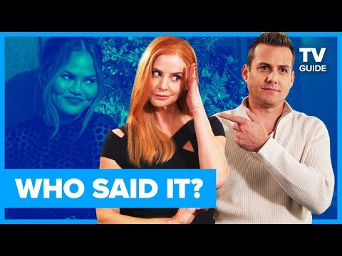 Suits Cast Plays WHO SAID IT: Chrissy Teigen or Suits Character?