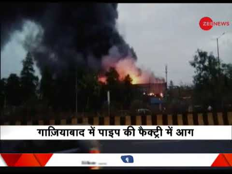 Major fire at a factory in Ghaziabad, no casualties yet