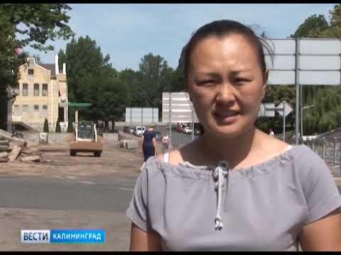 В Нестерове завершается реконструкция центральной площади
