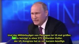 Wladimir Putin: Die Fakten, wer der weltweite Aggressor ist!