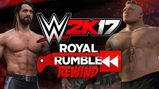 Royal Rumble Rewind - WWE 2K17 thumbnail
