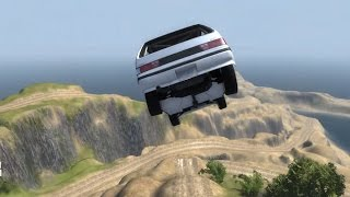 BeamNG.drive - Rally Ridge - A fast rally track along cliff edges