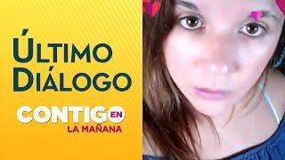 Estos son los últimos mensajes que envió Claudia Agüero  - Contigo en la Mañana