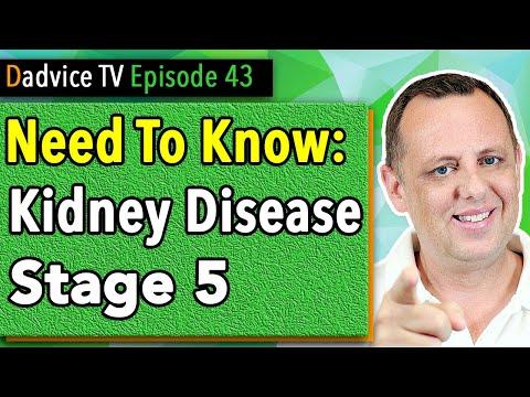 Chronic Kidney Disease Symptoms Stage 5 KIDNEY FAILURE Treatment And ESRD Renal Diet